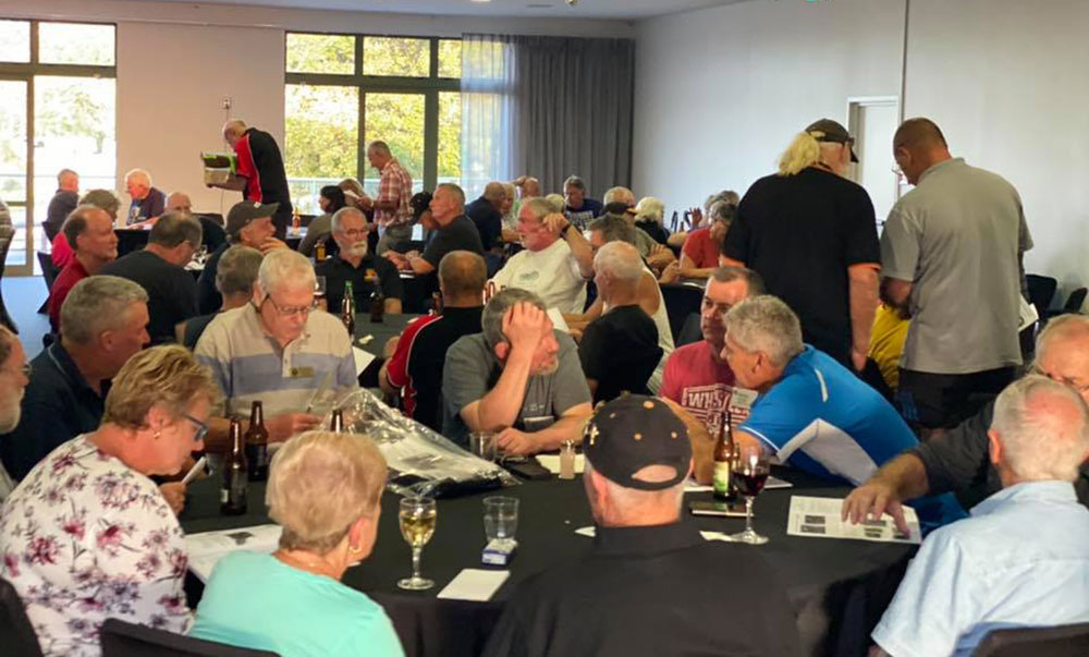 function centre hire for vintage motorbike rally in Nelson
