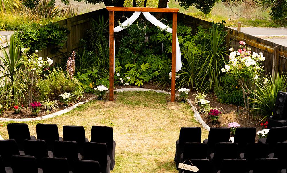 Nelson Wedding Venue Outside