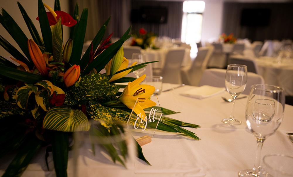 Nelson wedding venue inside